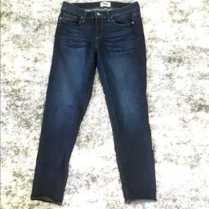 Paige mid rise stretch skinny jeans size 29